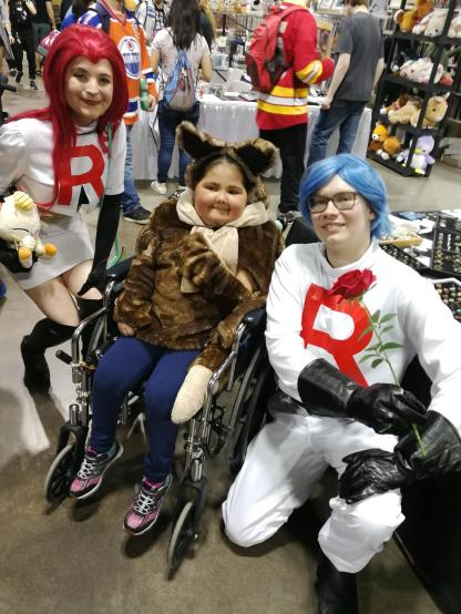 Team Rocket meets Eevee!